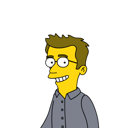 Me as a Simpsons character